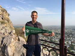 Alumnus Matt Long spreads the W&M spirit/ Photo courtesy of Matt Long