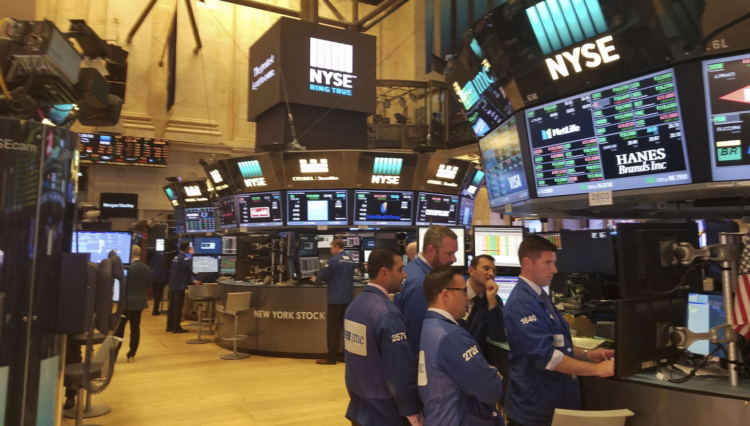 W Amp M Weekend Nyse Trading Floor University Advancement